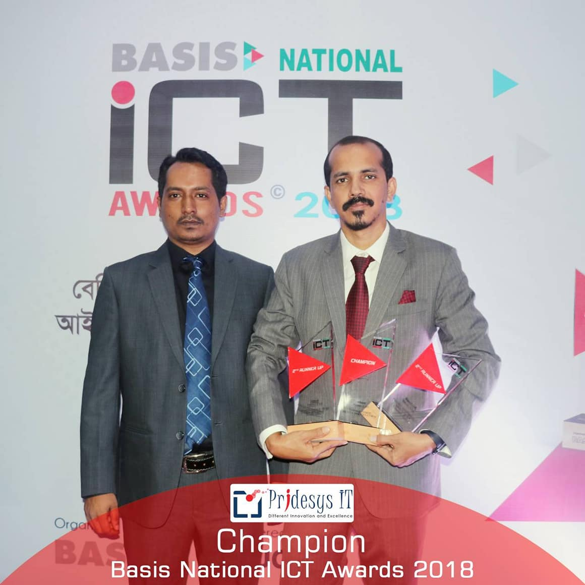 Champion of BASIS National ICT Award 2018 (3)