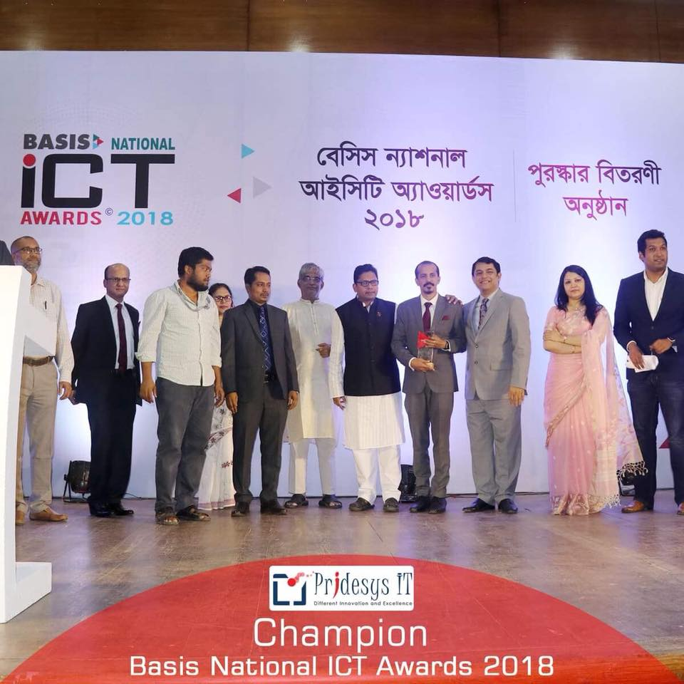 Champion of BASIS National ICT Award 2018 (2)
