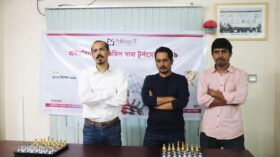 Opening Ceremony of Pridesys Victory Day Inter-office chess tournament 2019
